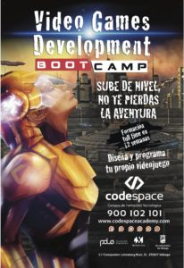 Videogames development Bootcamp @ Polo Contenidos Digitales