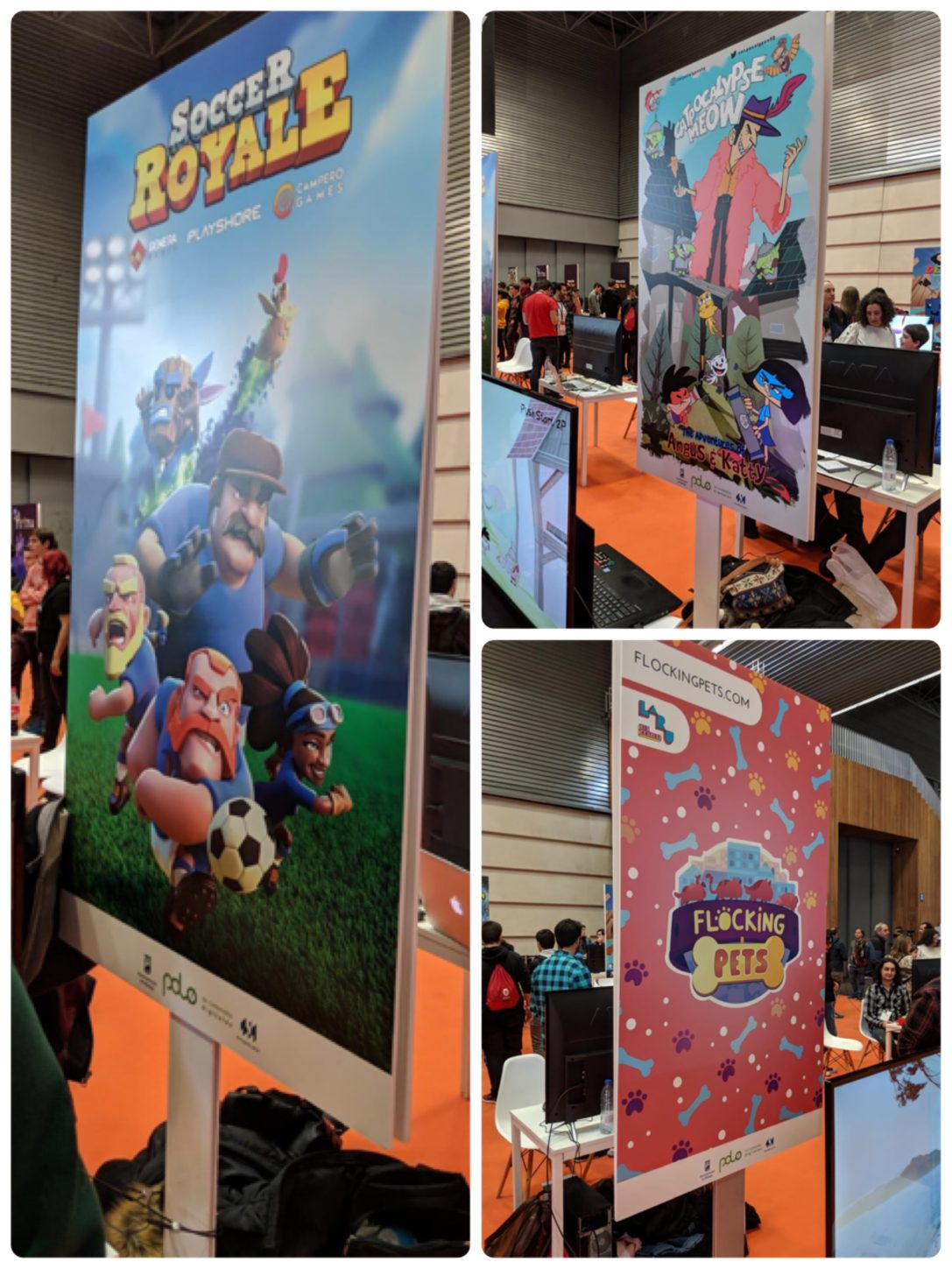 "TRES ESTUDIOS DE VIDEOJUEGOS ""MADE IN POLO"" PRESENTES EN EL FUN AND SERIOUS GAMES FESTIVAL"