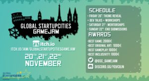 Global StartupCities GameJam